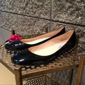 Jimmy Choo Shoes - Jimmy Choo Black Patent Leather Flats Sz38.5